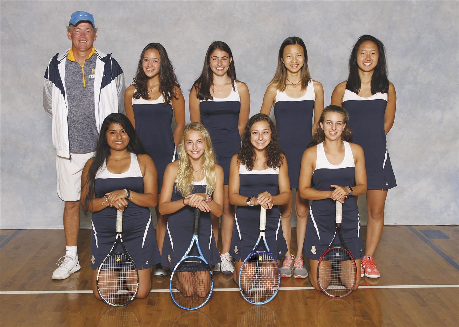 Girls Tennis - GCC Champions, State Qualifiers - Maggie Yang, Niya Fried