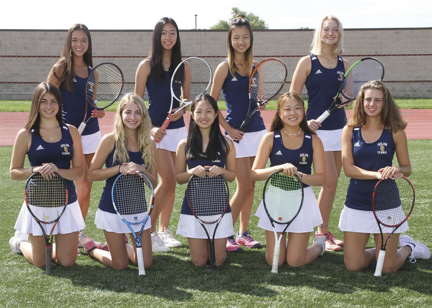 Girls Tennis - GCC Champions