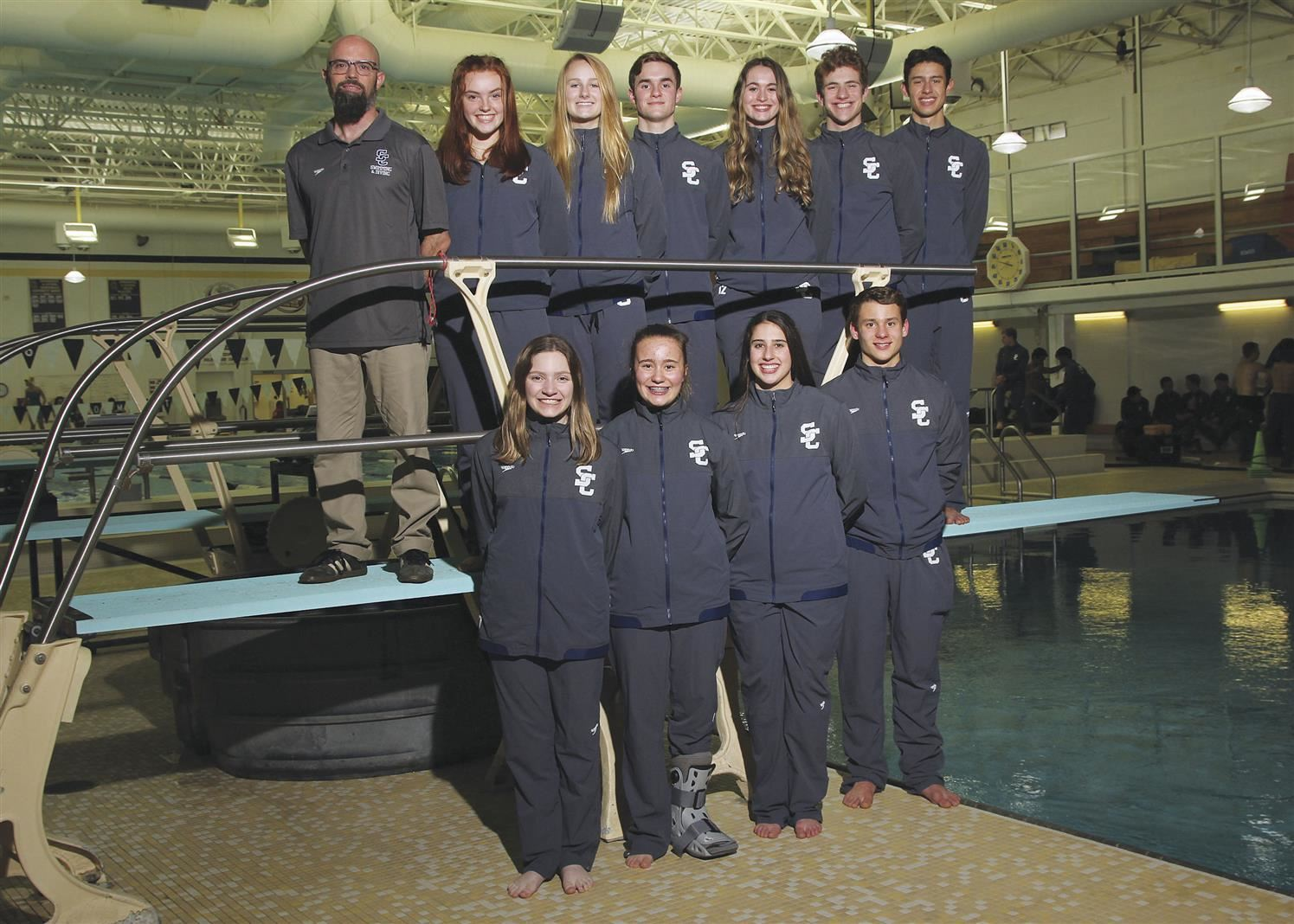 Boys / Girls Diving - State Qualifiers - Jackson Salisbury - State Runner-Up / Patrick Burke - 7th Place / Josh Schwartz - 8th Place / Tara FitzGerald - 10th Place / Abby Wilkov - 14th Place / Alex Ludgate - 20th Place / Bethany Mercer - 23rd Place