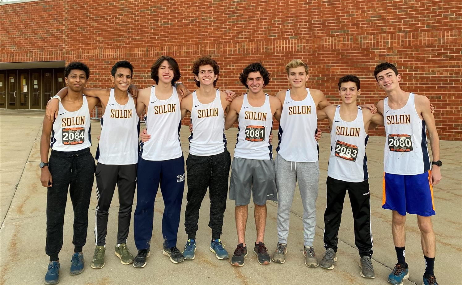 Boys Cross Country - State Qualifiers     -  Joshua Baker, Jonny Ciccero, Nathan Close, Ryan Goldfeder, James Howell, Charlie Kasper, Adam Yousef, Colon Wong