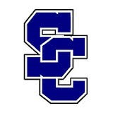 Dark blue interlocking SC Logo