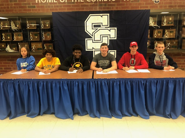 Six Comets Sign National Letters of Intent
