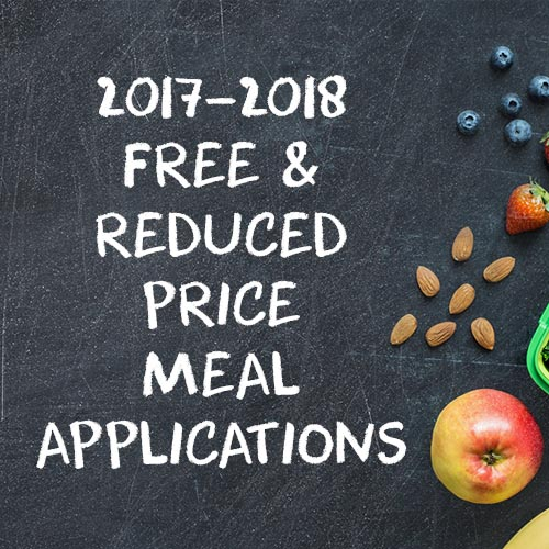 Free and Reduced Meal Price Applications for 2017-18 with nuts and fruits