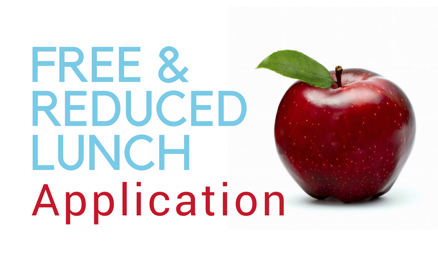 Red apple with Free and Reduced Lunch Application