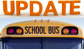 School Bus with the word UPDATE
