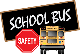School Bus with Stop Sign and School Bus Safety