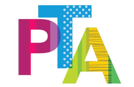 Colorful letters PTA