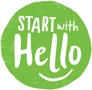 Start with Hello!