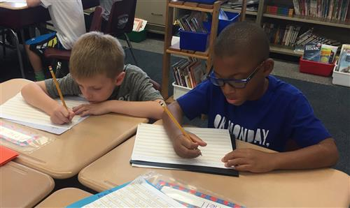 Lewis Students Writing
