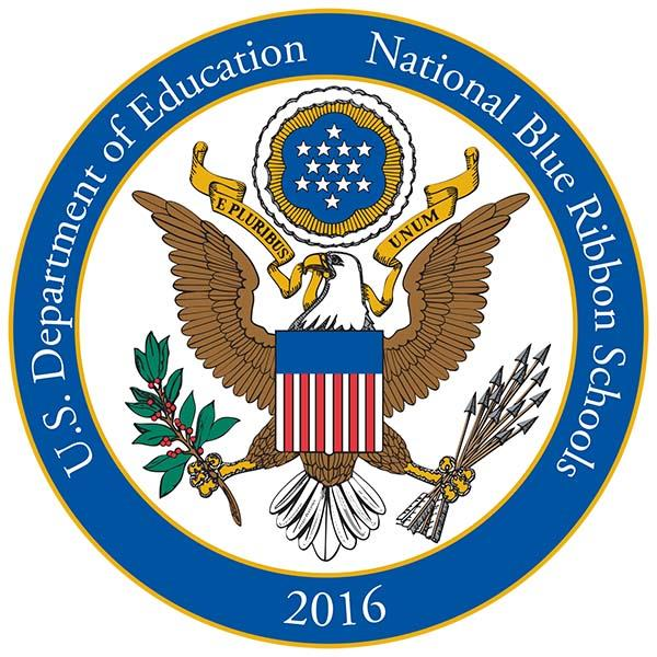2016 Blue Ribbon School Logo